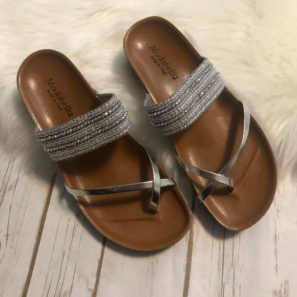 b4da9cad88e17 MODABELLA Comfy Slip on Sandals. M 5b7585772aa96a7a6491bbfd
